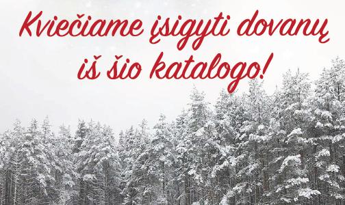 Žaliosios mokyklos Kalėdinis dovanų katalogas 2018