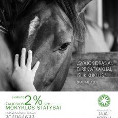 Kviečiame skirti 2% nuo GPM