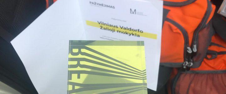 Lietuvos mokyklų apdovanojimai / Metų mokykla 2019
