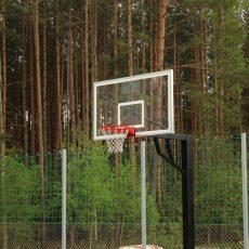 Oficialiai atidaryta krepšinio aikštelė